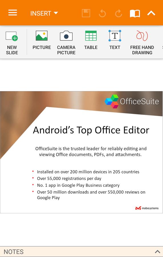 OfficeSuite 9 Pro + PDF Premium App Android Free Download