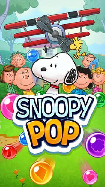 Snoopy Pop Game Android Free Download