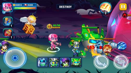 Super Heroes Junior Game Android Free Download