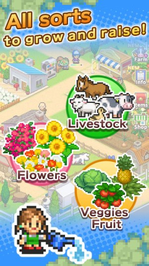 8 bit farm Game Ios Free Download