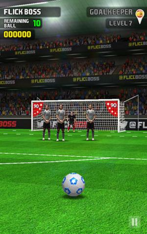 Flick Boss Freekick Game Android Free Download