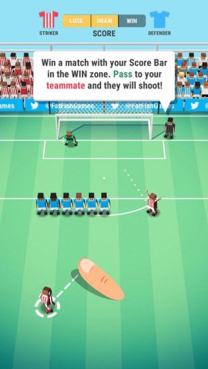 Tiny Striker World Football Game Android Free Download