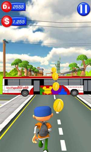 Bus rush 3D Game Android Free Download