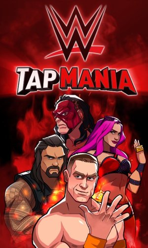 WWE Tap Mania Game Android Free Download