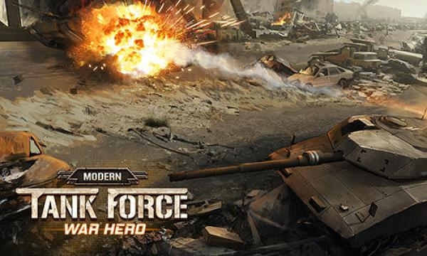 Modern Tank Force War Hero Game Android Free Download
