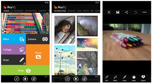 PicsArt App Windows Phone Free Download
