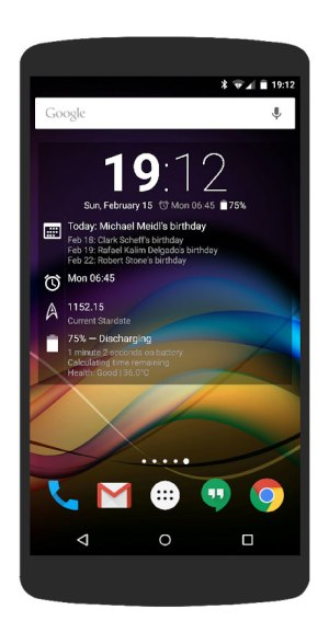 Chronus: Home and Lock Widgets App Android Free Download