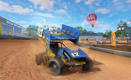 Dirt Trackin Sprint Cars Game Android Free Download