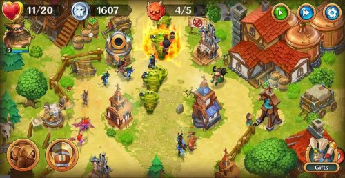 Holy TD Epic Tower Defense Game Android Free Download
