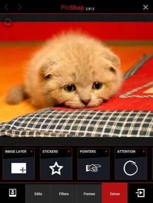 PicShop Photo Editor App Android Free Download