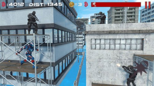 Iron Avenger No Limits Game Android Free Download