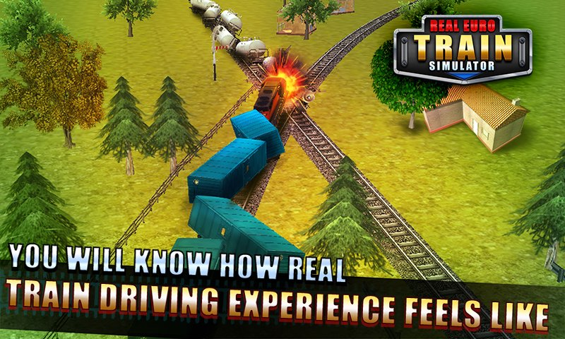Real Euro Train Simulator Christmas Special Apk Android Free Download