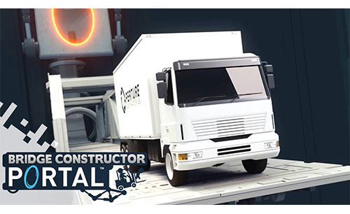Bridge Constructor Portal Apk Game Android Free Download
