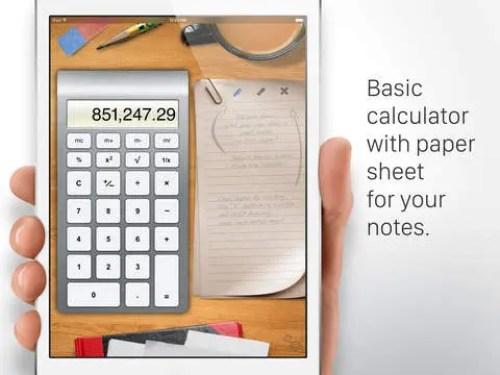 Calculator HD for iPad Ipa App iOS Free Download