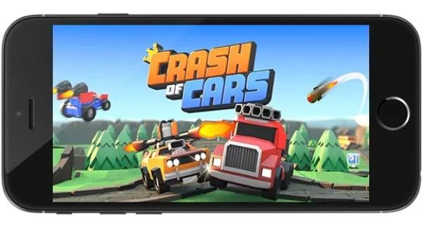 Crash of Cars Ipa Game iOS Free Download