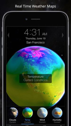 Living Earth - Clock & Weather Ipa App iOS Free Download
