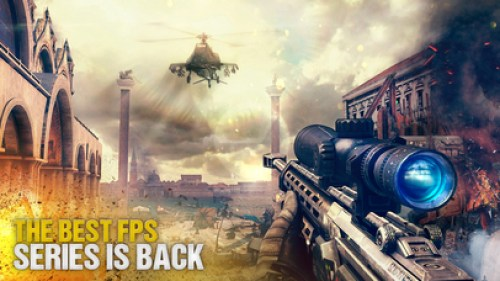 Modern Combat 5: The Multiplayer eSports Shooter Ipa Game Ios Free Download