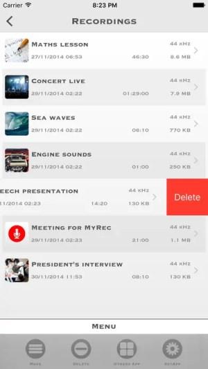 My Rec - Audio Recorder Ipa App iOS Free Download