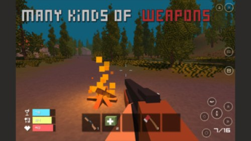 Pixel Z - Unturned Day Ipa Game iOS Free Download