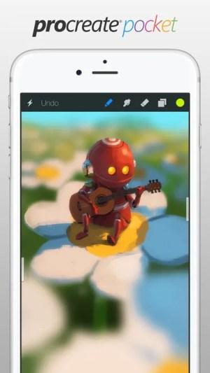 Procreate Pocket Ipa App iOS Free Download