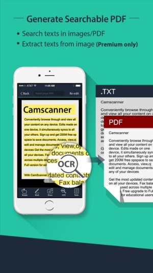 CamScanner Pro Ipa App iOS Free Download