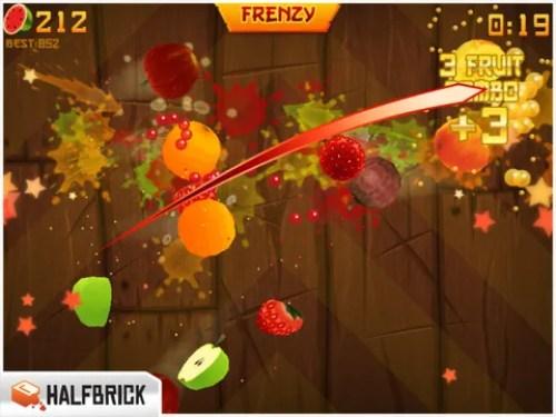 Fruit Ninja HD Ipa Game iOS Free Download