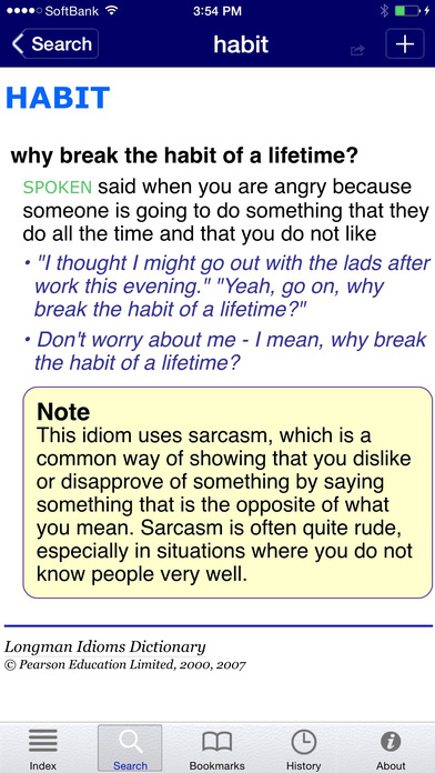 download idioms dictionary application