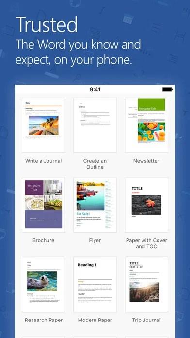 Microsoft Word 2014 Ipa App iOS Free Download