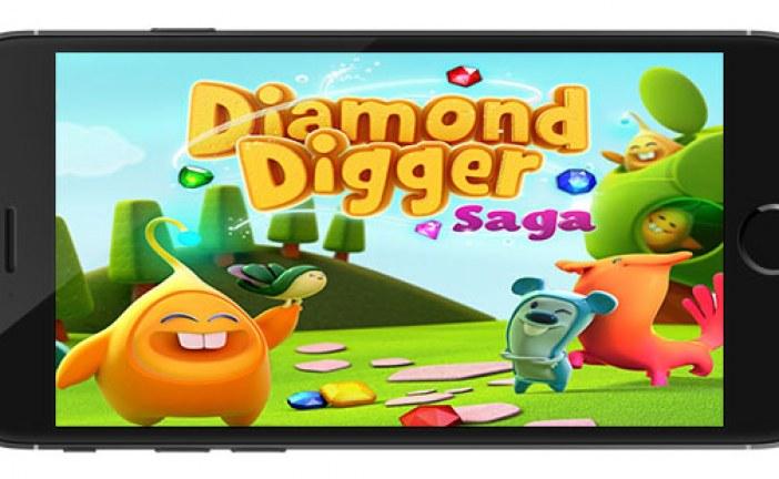 Diamond Digger Saga Apk Game Android Free Download