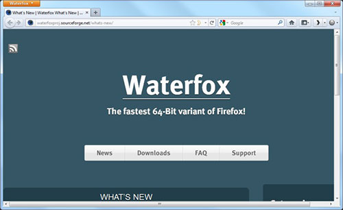 Waterfox Apk App Android Free Download