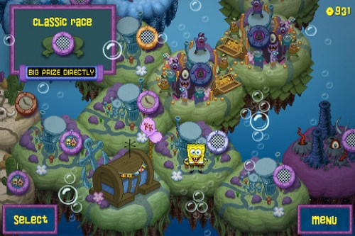 SpongeBob Kart Ipa Game iOS Free Download
