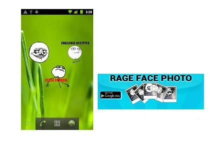Rage Face Photo Android App Free Download