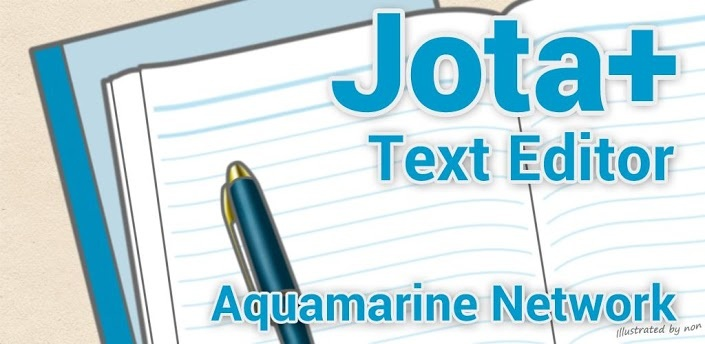 Jota Text Editor App Android Free Download