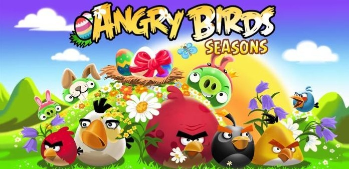 Angry Birds Seasons Cherry Blossoms Game Android Free Download