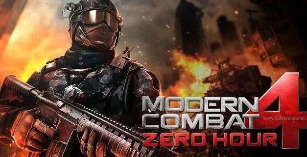 Modern Combat 4 Zero Hour Game Ios Free Download