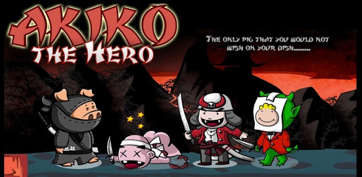 Akiko The Hero Game Android Free Download