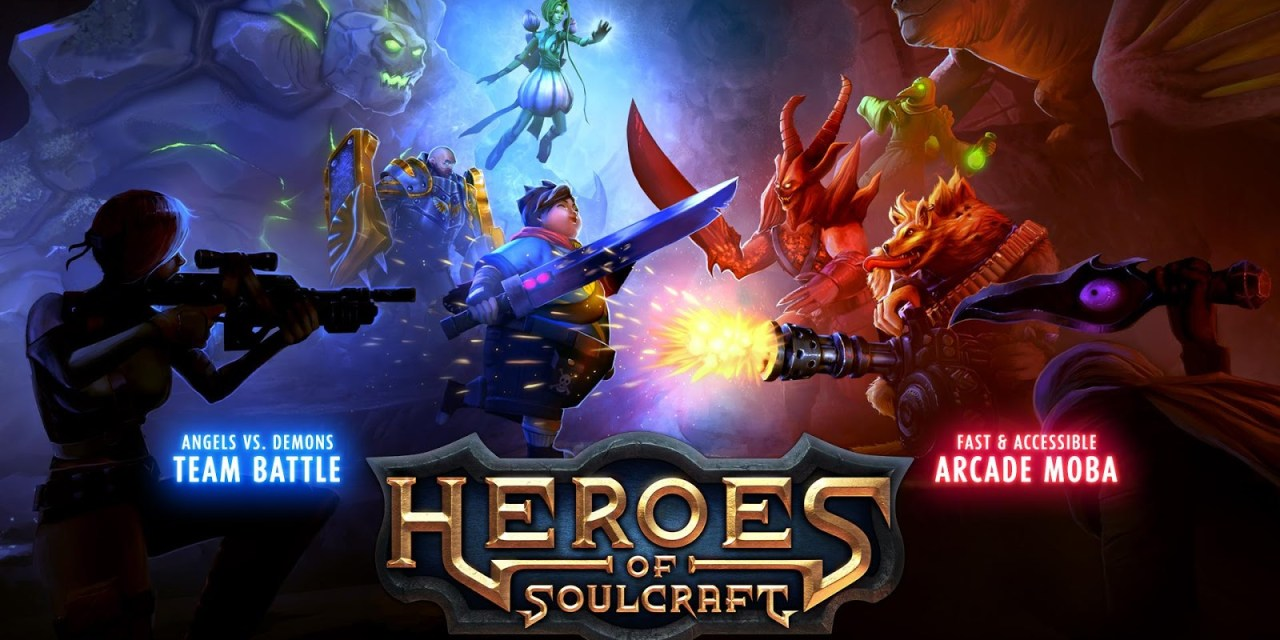 Heroes of SoulCraft MOBA Game Android Free Download