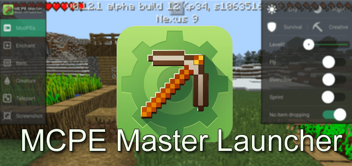 Master For Minecraft Launcher Game Android Free Download