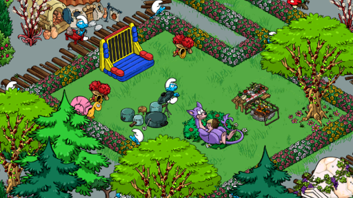 Smurfs Village Game Android Free Download