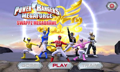 Power Rangers swappz Megabrawl Game Android Free Download