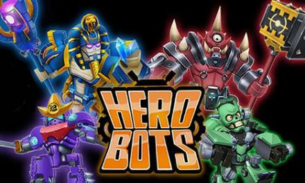 Herobots Build To Battle Game Android Free Download