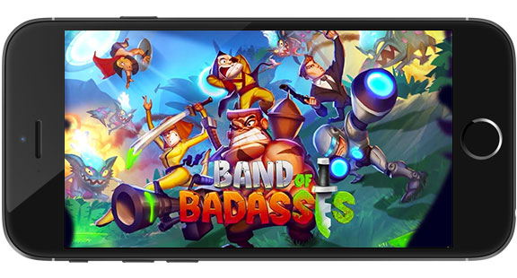 Band of Badasses Run and Shoot Game Android Free Download