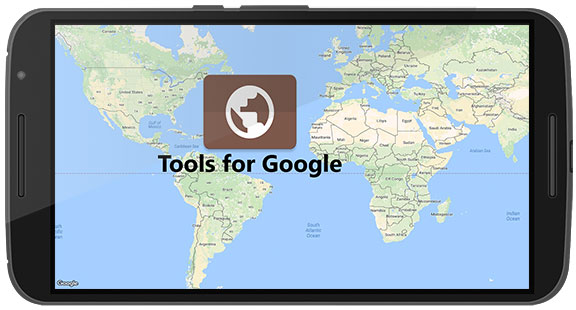 Tools for Google Maps App Android Free Download on
