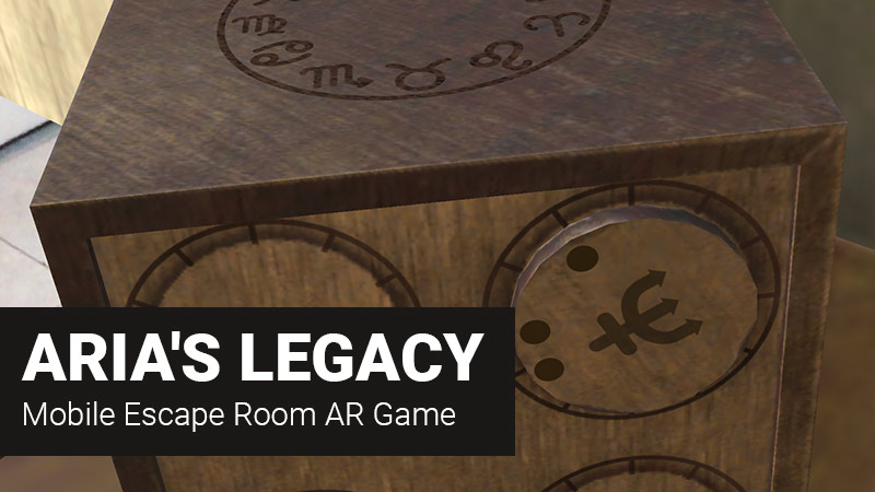 ARia's Legacy – AR Escape Room Ipa Game iOS Free Download