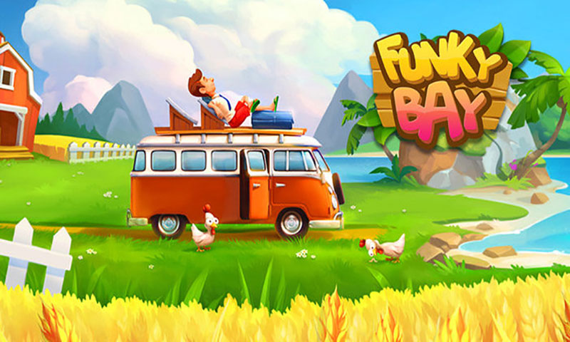 Funky Bay – Farm & Adventure Apk Game Android Free Download