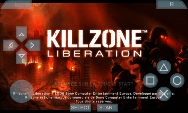 KillZone Liberation PPSSPP Game Android And iOS Free Download