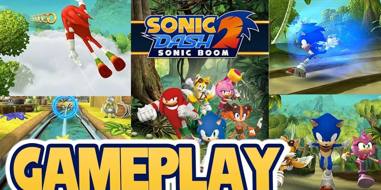 Sonic Dash 2: Sonic Boom Ipa Game iOS Free Download