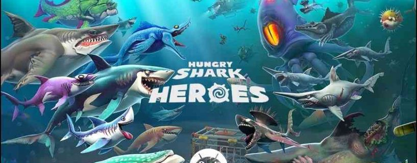 Hungry Shark Heroes MOD APK | One Hit Kill | God Mode