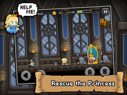 Don't die in dungeons Ipa Game iOS Download