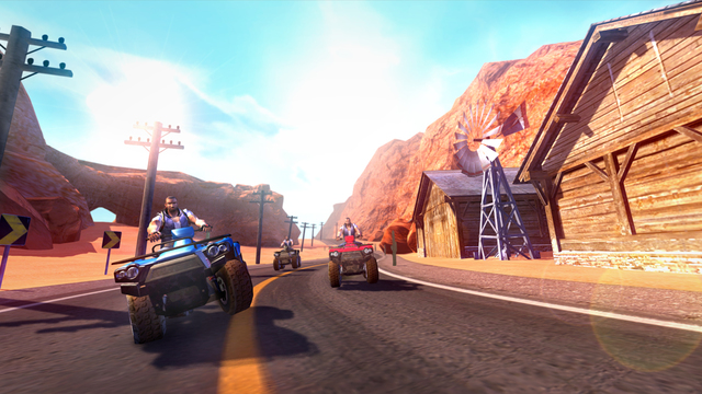 3D Quad Bikes Unlimited HD Ipa Game iOS Download